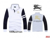 Burberry Long-sleeved Polo T-shirt -166