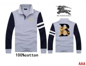 Burberry Long-sleeved Polo T-shirt -169