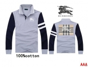 Burberry Long-sleeved Polo T-shirt -175