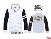 Burberry Long-sleeved Polo T-shirt -177