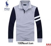 Polo Long-sleeved Polo T-shirt -047