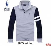 Polo Long-sleeved Polo T-shirt -058