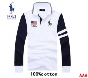 Polo Long-sleeved Polo T-shirt -071