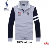 Polo Long-sleeved Polo T-shirt -072