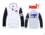 Puma Long-sleeved Polo T-shirt -074
