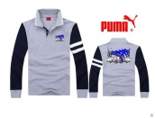 Puma Long-sleeved Polo T-shirt -075