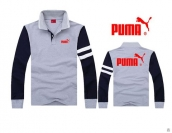 Puma Long-sleeved Polo T-shirt -076