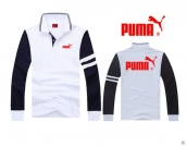Puma Long-sleeved Polo T-shirt -077