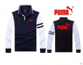 Puma Long-sleeved Polo T-shirt -078