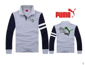 Puma Long-sleeved Polo T-shirt -081