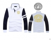 Versace Long-sleeved Polo T-shirt -128