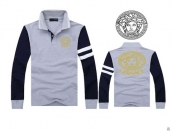 Versace Long-sleeved Polo T-shirt -129