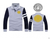 Versace Long-sleeved Polo T-shirt -130