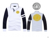 Versace Long-sleeved Polo T-shirt -131
