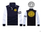 Versace Long-sleeved Polo T-shirt -132
