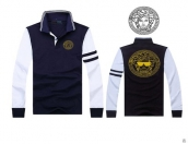 Versace Long-sleeved Polo T-shirt -133