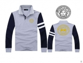 Versace Long-sleeved Polo T-shirt -135