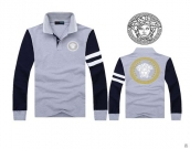 Versace Long-sleeved Polo T-shirt -136