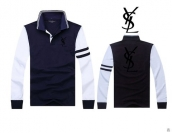 YSL Long-sleeved Polo T-shirt -145