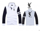 YSL Long-sleeved Polo T-shirt -146