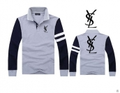 YSL Long-sleeved Polo T-shirt -147