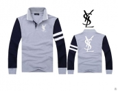 YSL Long-sleeved Polo T-shirt -148