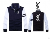 YSL Long-sleeved Polo T-shirt -150