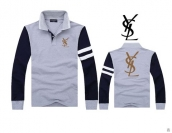 YSL Long-sleeved Polo T-shirt -153