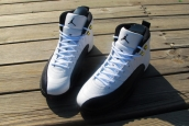 Perfect Air Jordan 12 Taxi White Black Golden
