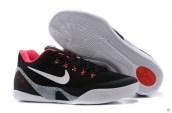 Nike Kobe 9 EM Low Women Black Red White