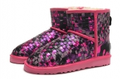 2014 Women Boot 1005654 AAA Pink Purple