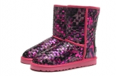 2014 Women Boot 1005625 AAA Pink Purple