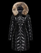 Moncler Down Coat Women 8014 Black