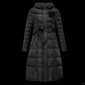 Moncler Down Coat Women 13044 Black