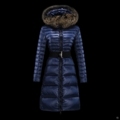 Moncler Down Coat Women 13052 Blue