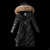 Moncler Down Coat Women 13057 Black