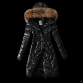 Moncler Down Coat Women 13059 Black