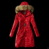 Moncler Down Coat Women 13059 Red