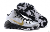 Nike Hyperdunk 2014 XDR White Black Golden