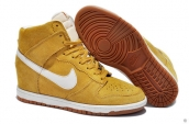Nike Dunk Sky Hi Women Yellowish Brown