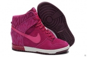 Nike Dunk Sky Hi Print Women Rose Red