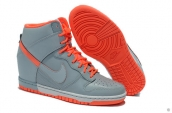 Nike Dunk Sky Hi Women Grey Orange