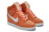 Nike Dunk Sky Hi Women Orange White