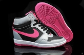 Nike Force Sky High Prm Women Grey Black Pink