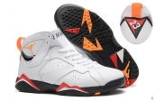 Perfect Air Jordan 7 White Orange Black