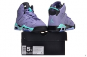 AAA Air Jordan 6 Retro Grey Green