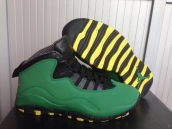 Super Perfect Air Jordan 10 Oregon Green Duck 350
