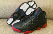 AAA Air Jordan 13 Women Black Red