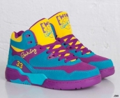 Ewing Athletics 33 Hi Purple Blue Yellow
