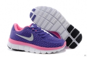Nike Free 5-0 Kids Purple Pink Grey